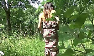 German legal duration teenager lost way and acquires public drilled in the woods