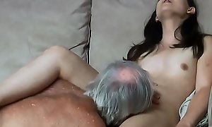 Daddy almost caught my uncle fucking me about put stress ass