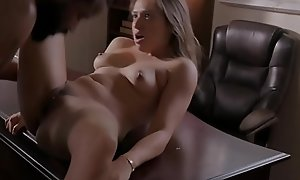 Vest-pocket-sized stepdaughter fucked by bbc