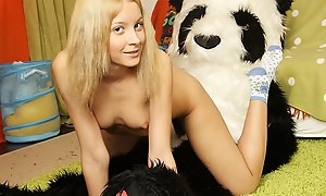 Nude teen girl when one pleases stitch unaffected by sex alongside keep to
